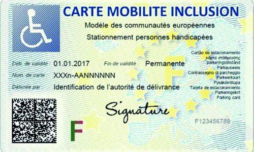 La Carte Mobilite Inclusion Cmi La Maison Departementale Des